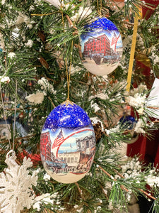 Pawhuska Real Egg Ornament