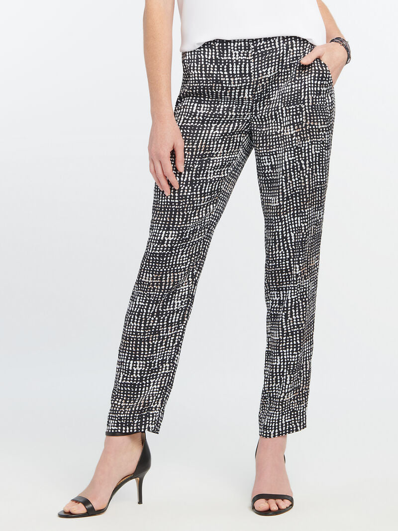 Nic and Zoe Dotted Lines Pants