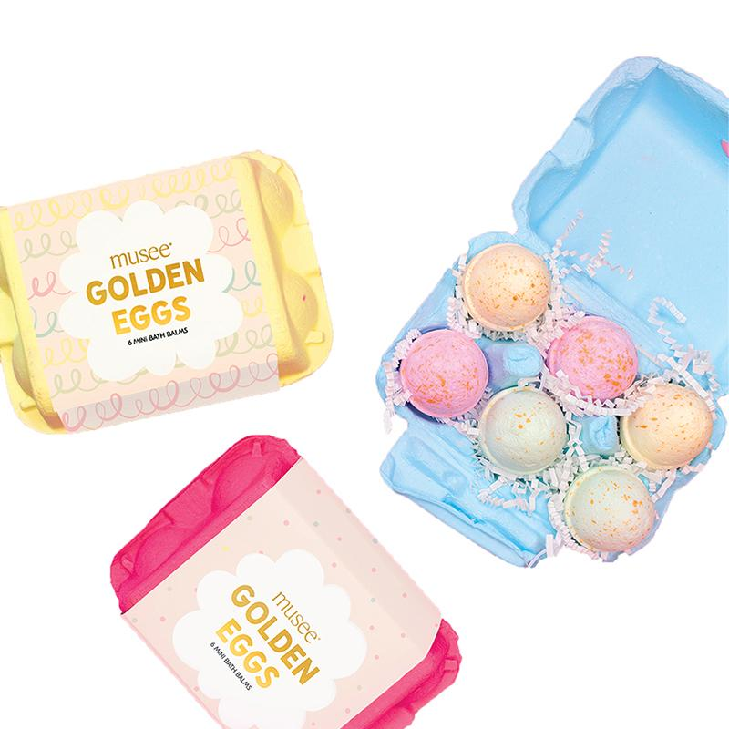 Musee Easter Egg Bath Balms
