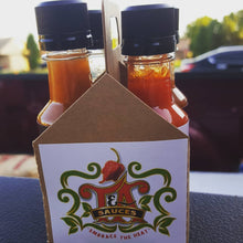 Load image into Gallery viewer, T&A Hot Sauces Four Pack