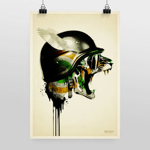 Fight or Flight Print by Hidden Moves