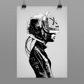 Space Cadet 2021 Print by Hidden Moves