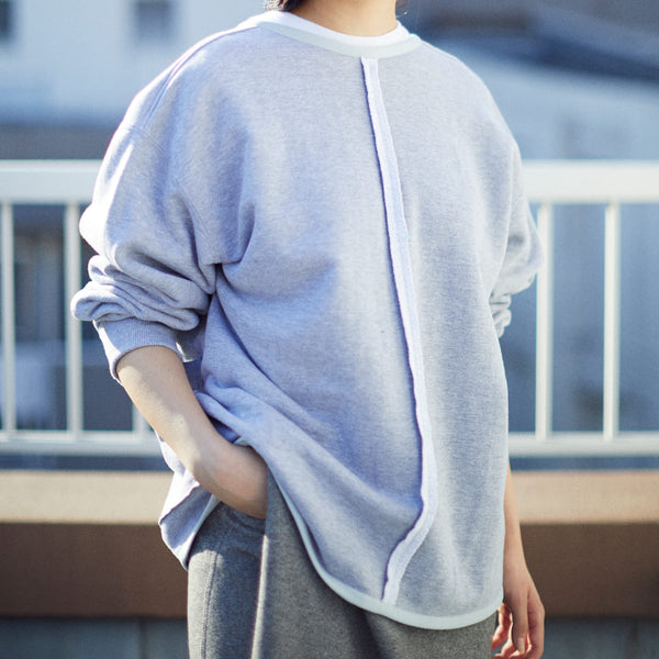 2WAY CARDIGAN SWEATER[GRAY]