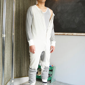 LOUNGE UNIONSUITS [GRAY]