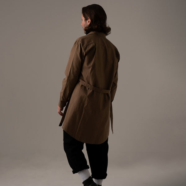 COVERED LONGCOAT