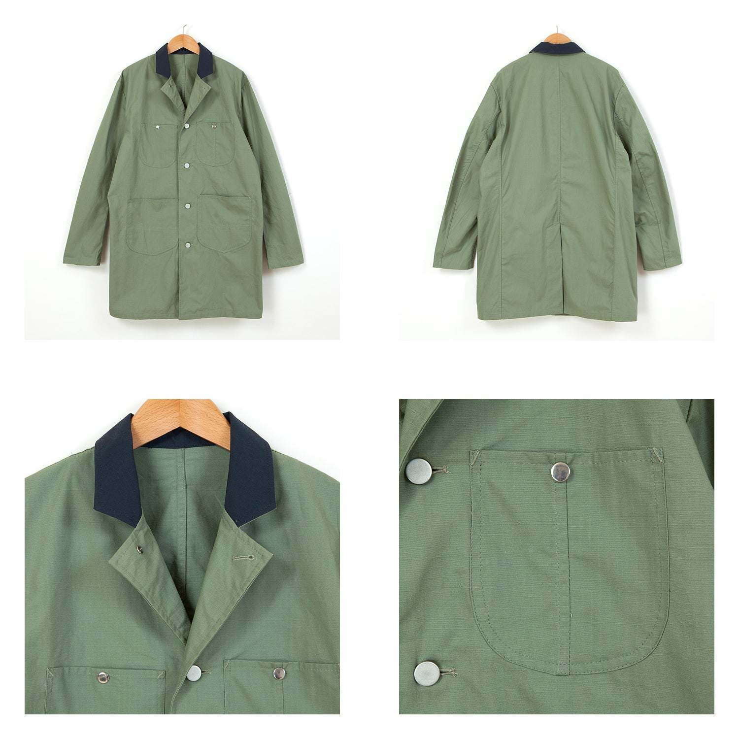 LONG WORKER COAT [KHAKI]