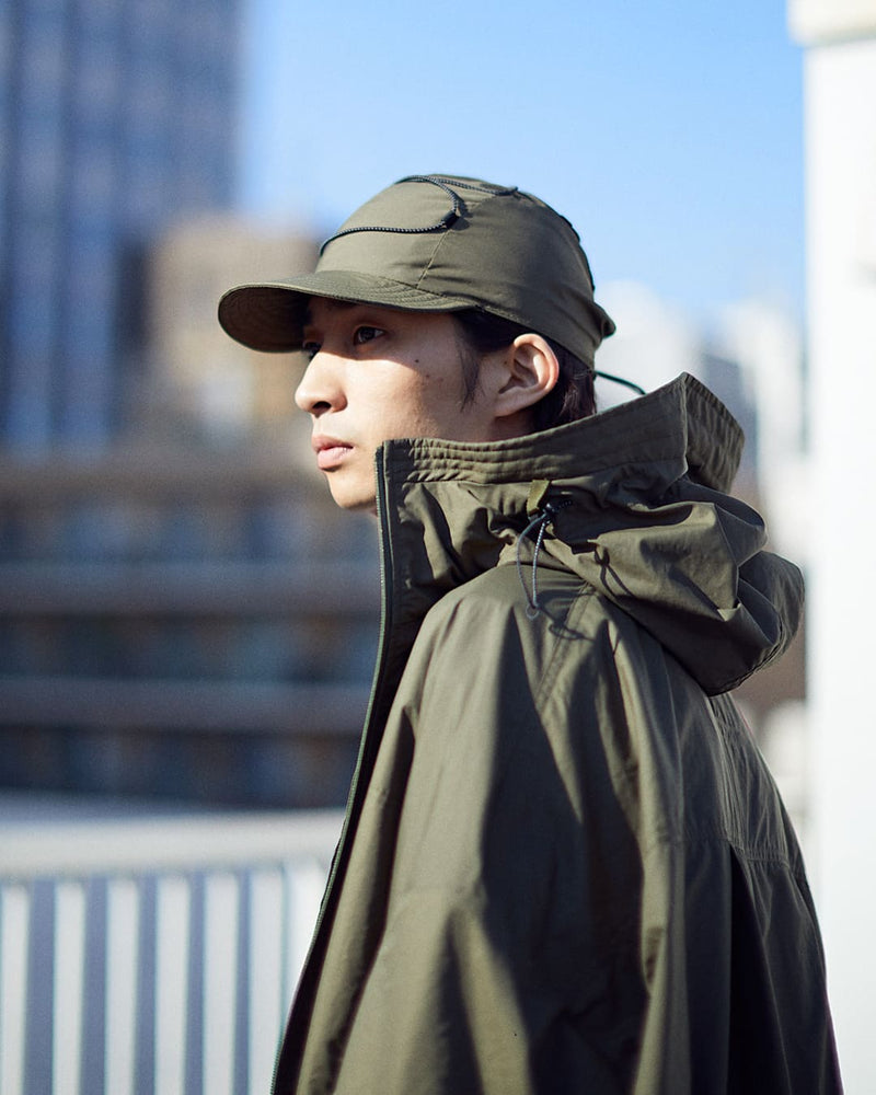DRAWCORD JET CAP[BLACK]