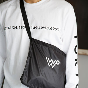 WEEKEND SHOULDER BAG [BLACK]