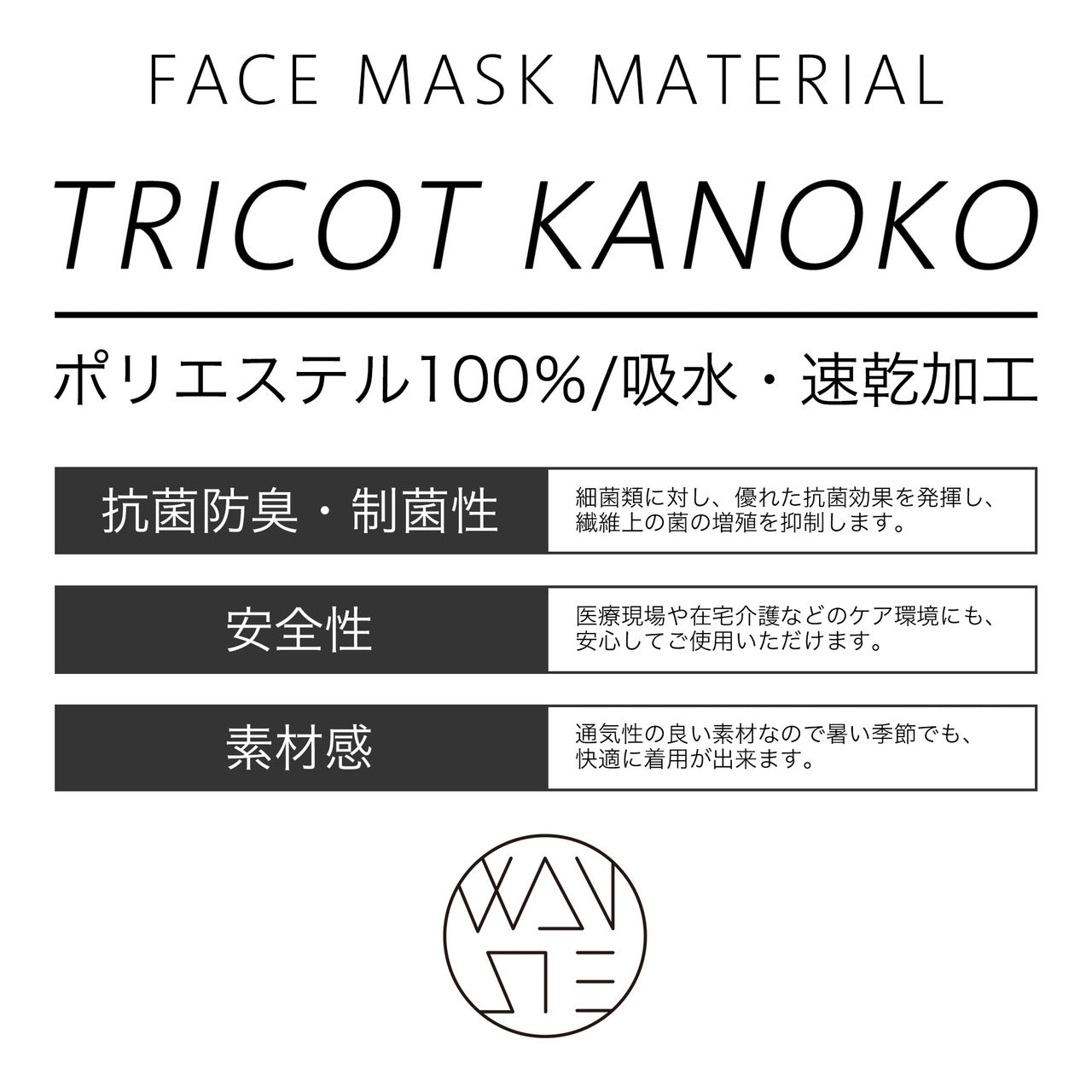 【数量限定】2PCS SUMMER FACE MASKS