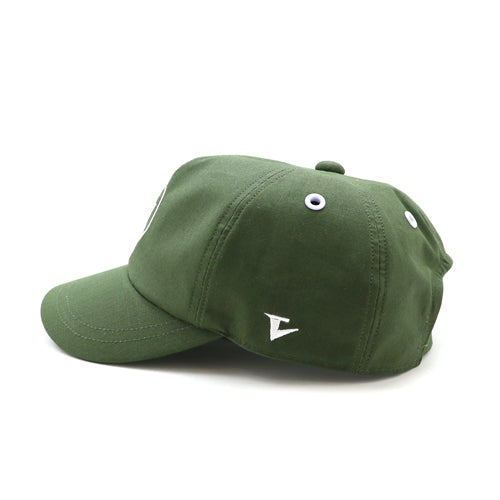 W LOGO WORK CAP [GREEN]