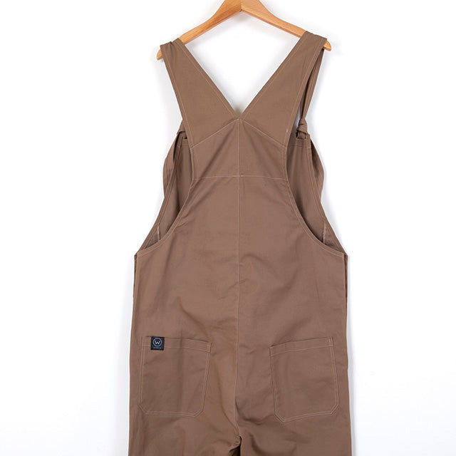 COVERED SHORT OVERALL [CAMEL/OLIVE/KAHKI]
