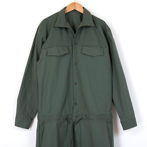 COVERED JUMPSUITS [CAMEL/OLIVE/KAHKI]