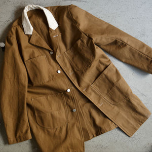 LONG WORKER COAT [CAMEL]