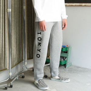 LOGO SWEAT PANTS [GRAY]