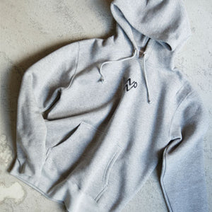 W LOGO SWEAT PARKER [GRAY]