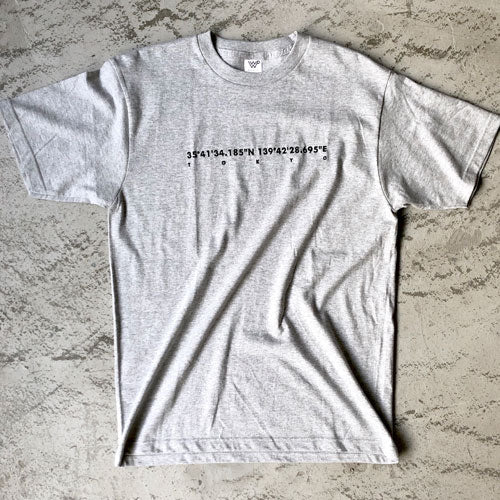 EMBROIDERY T-SHIRT [BLACK/WHITE/KHAKI/GRAY]
