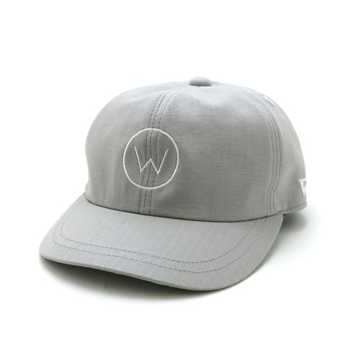 W LOGO WORK CAP [GRAY]