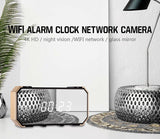 4K Wifi Clock Hidden Spy Camera with Motion Detection P2P WiFi IP