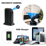 4K UHD Wireless WIFI Video Spy Camera Recorder IN 5X USB Power Charge Station