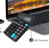 1080p HD WIFI Spy Camera Calculator supports up to 128GB storage