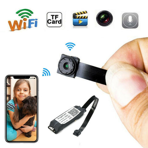 Budget HD WIFI DIY Spy Camera Module Wireless Camcorder