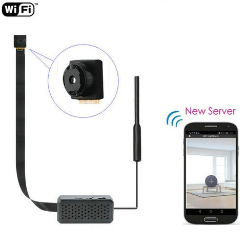 Compact 4K WIFI DIY Spy Camera Module Wireless Camcorder (New Server App)