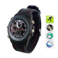 Waterproof Covert Spy Camera Watch 4GB DVR -0231