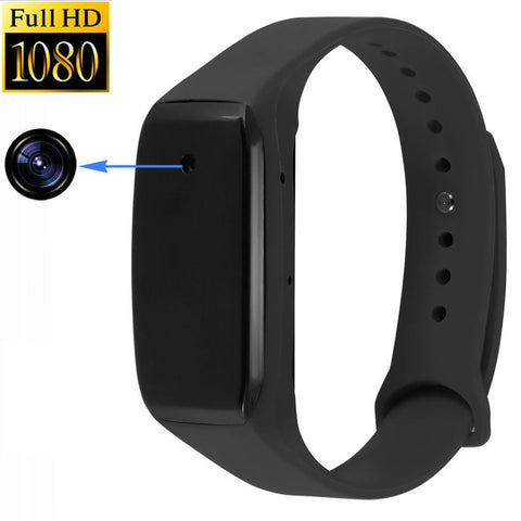 Fitness bracelet Spy Audio Recorder Watch Wristband with Voice Activated Recording 16GB