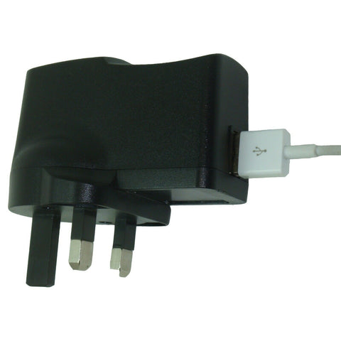 USB mains charger with Spy Bug GSM listening device hidden inside