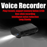 Upgradeable Spy audio voice recorder with up to 280hours of recording time