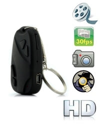 HD Secret Car Keys Spy Video Camera 8GB DVR -I148