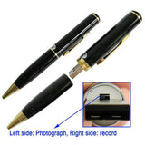 4GB Spy Pen DVR Camera (Gold & Black)
