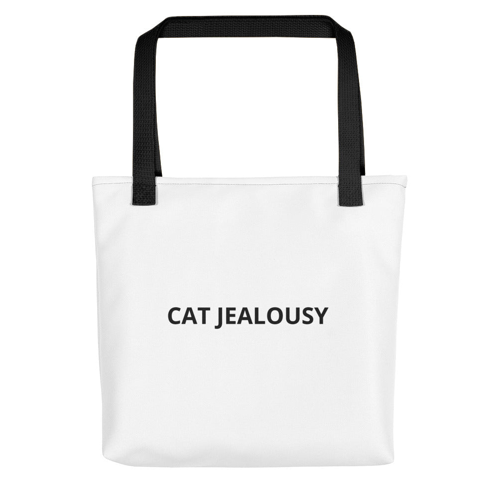 Cat Jealousy Life Style Tote