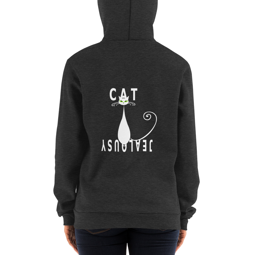Zip-Up Hoody Cat Jealousy