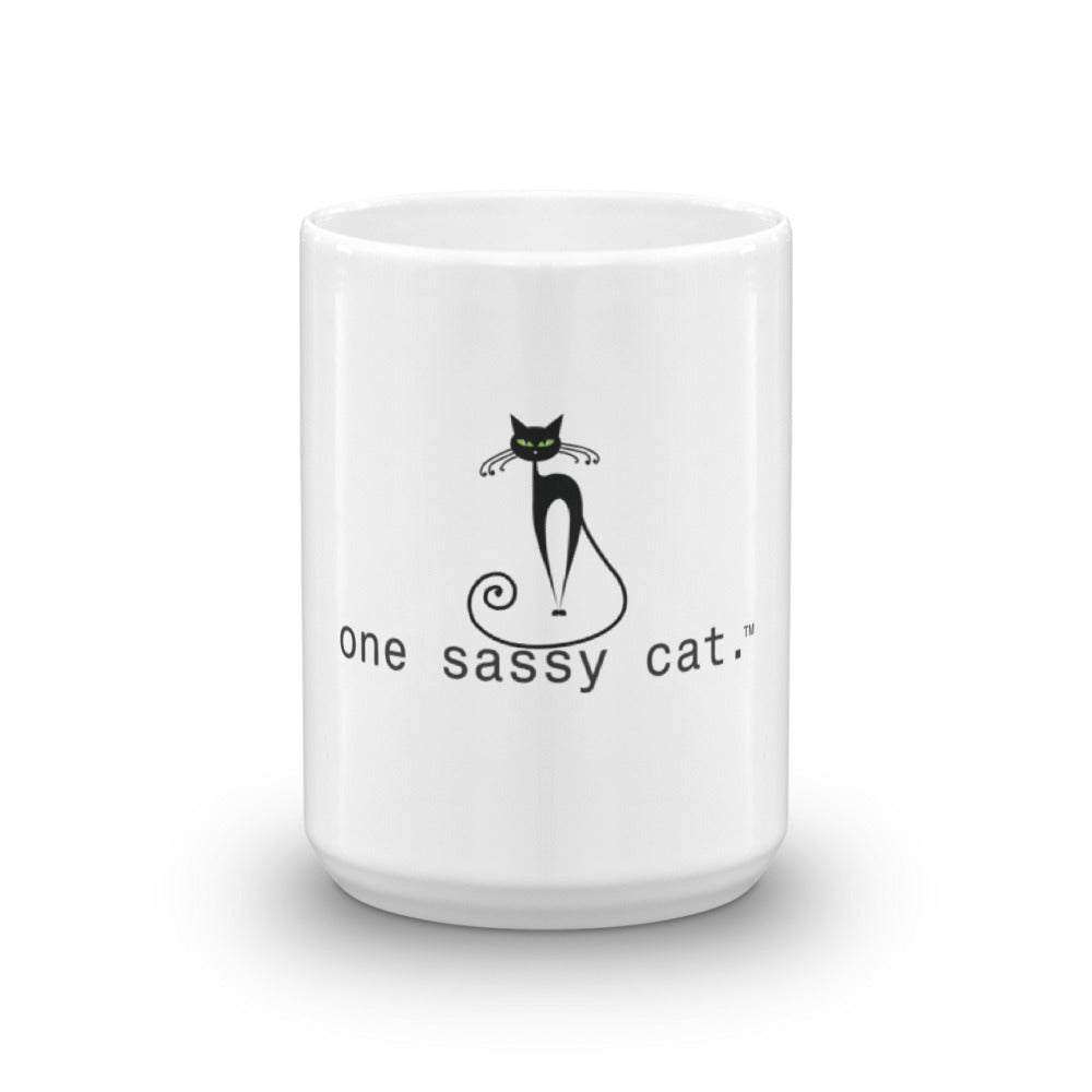 Coffee Mug-one sassy cat.