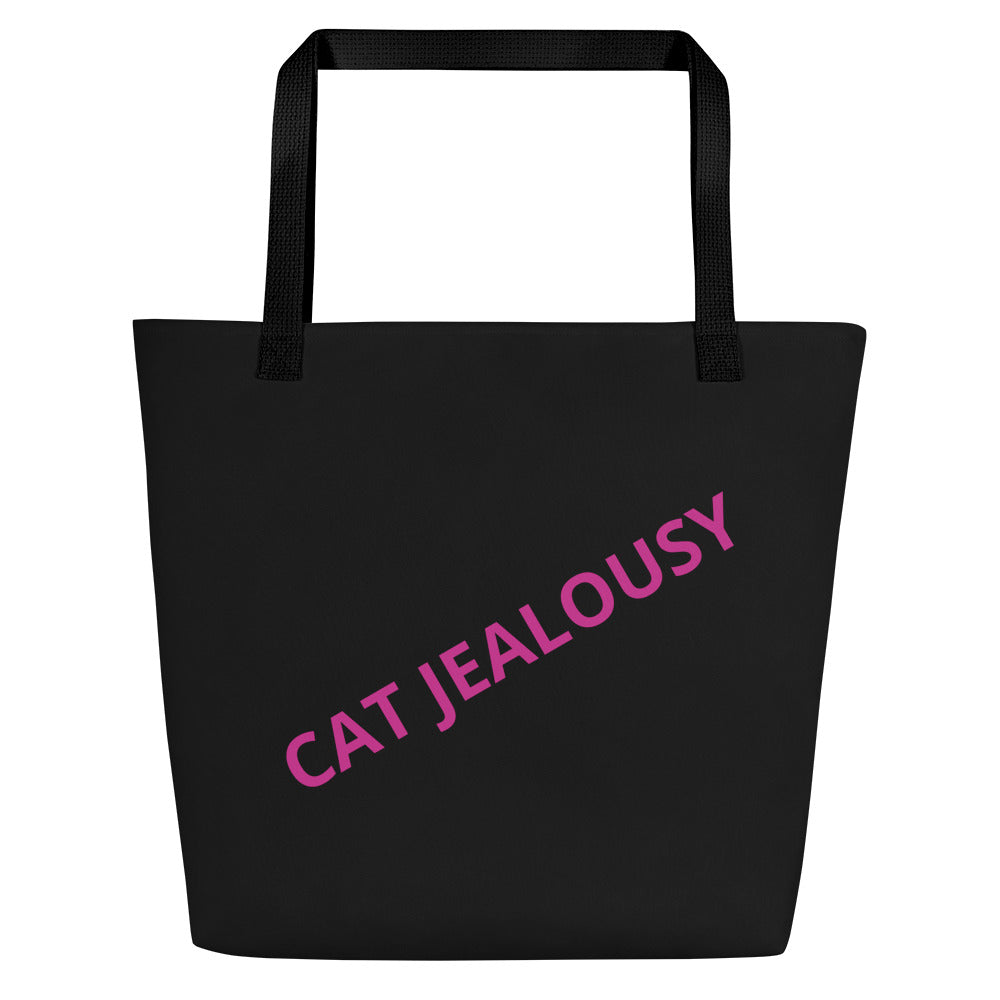 Beach Bag-Cat Jealousy