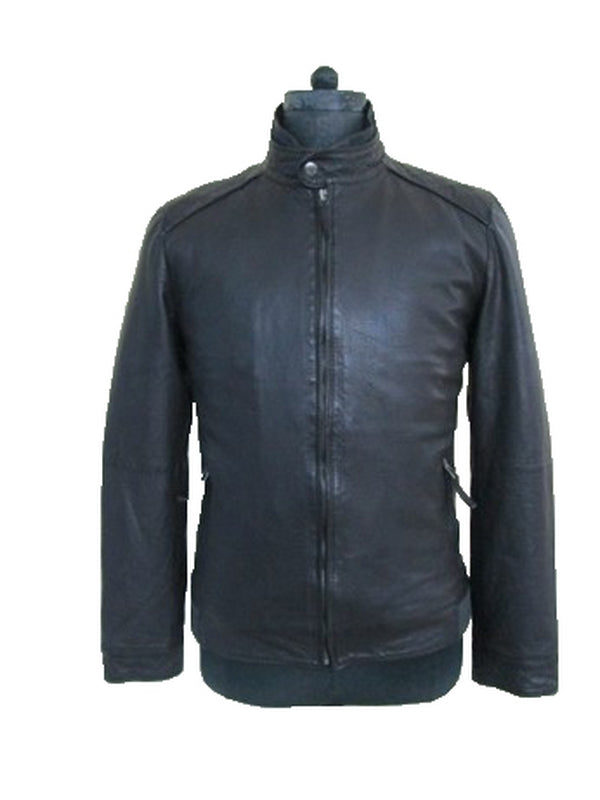 Leather Jacket 7709 Black