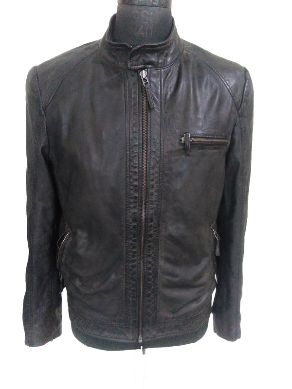 Leather Jacket 8029 Black