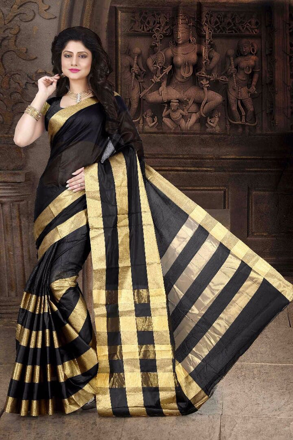Art cotton saree with blouse