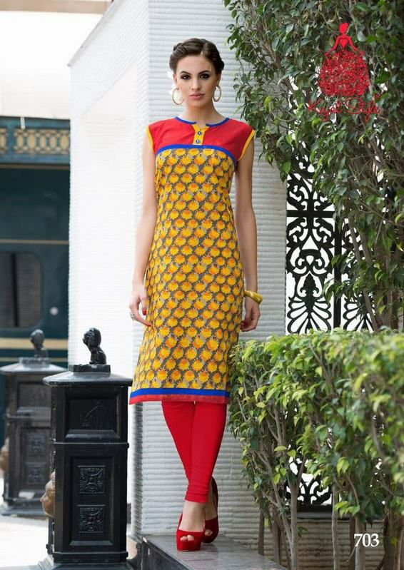 Cotton Daily Wear Kurtis