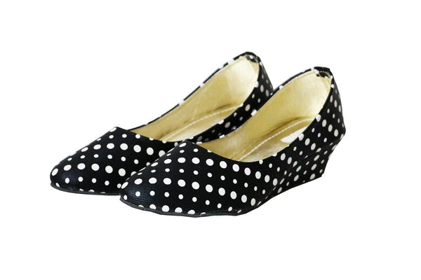 Staryou Dotted Women Black Liteforce Bellies