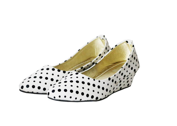 Staryou Dotted Women White Liteforce Bellies