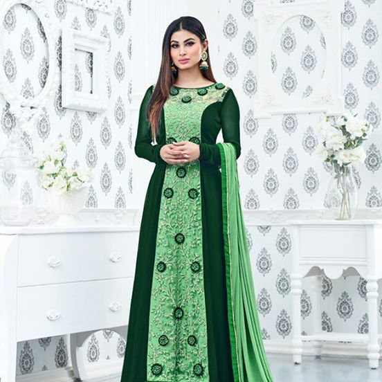 Rang Women Georgette Gown