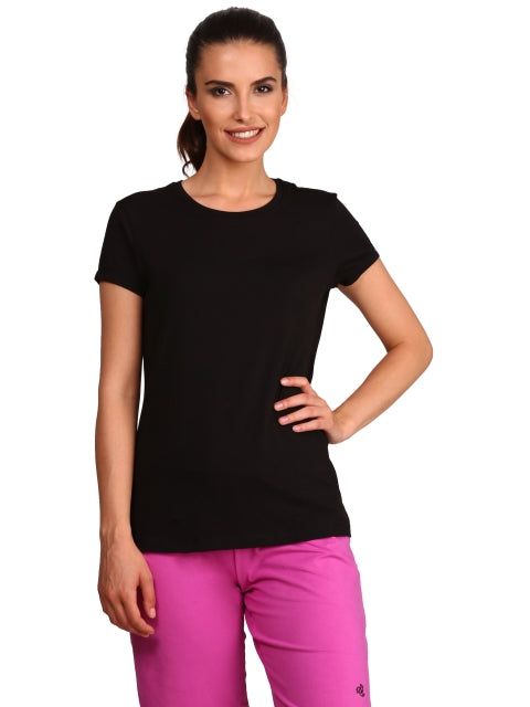 Jockey Black Round Neck T-Shirt