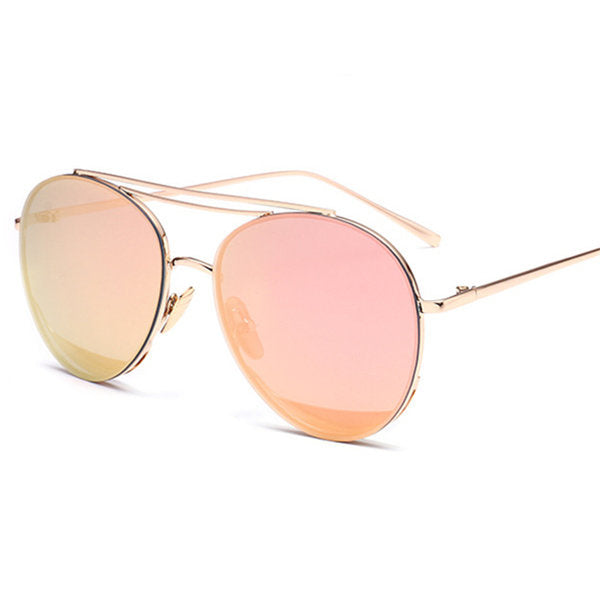 Unisex Water Droplets Mirrored Lens Sunglasses Colorful Outdoor Fashion Glasses Sunglasses