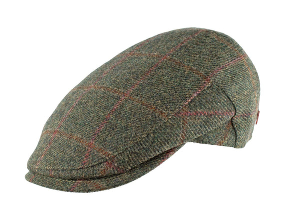 Hunter Green Wool Plaid