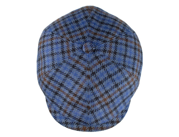 Blue Wool Plaid