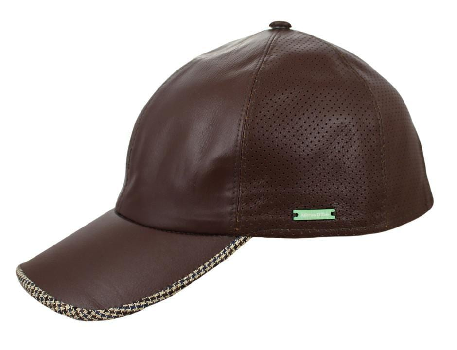 The Cabrio Leather Baseball Cap - JJ Hat Center f7079e0f6f2