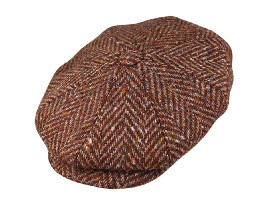 Rust Herringbone Tweed