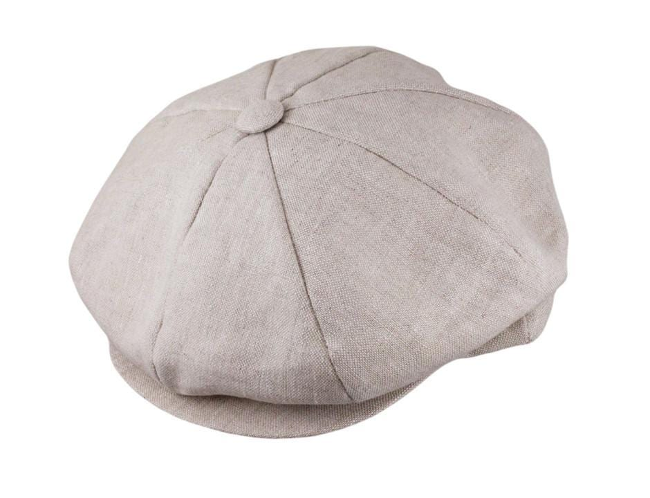 82c3f741ec422 The JJ Linen Newsboy - JJ Hat Center